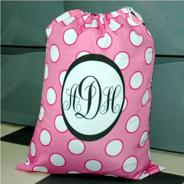 Monogrammed Laundry Bags