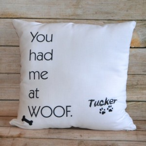 Pillow Woof Pillow