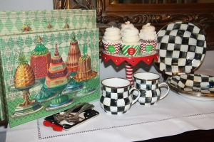 Custom Cupcake Wrappers Christmas 1