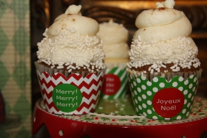 Custom Cupcake Wrappers Christmas 5