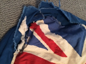 British Flag dog bed 3