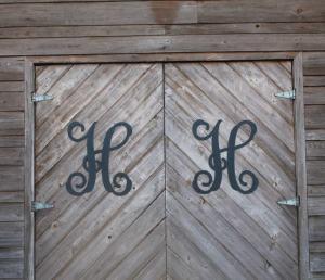 Metal Single Letters