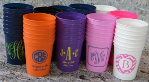 Personalized stadium cups  1
