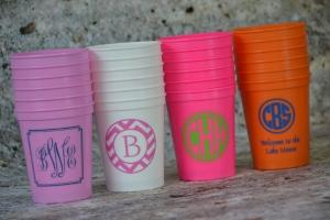 Personalized Stadium cups 2