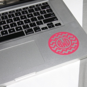 Monogram your Laptop!