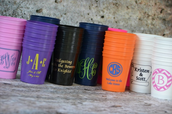 Monogram Lane Stadium Cups