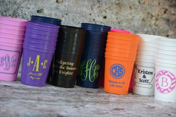 Monogram Lane Stadium Cups