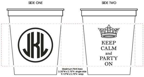 Stadium cups sample 10
